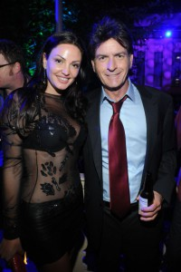 Charlie Sheen and Bleona at Comedy Central Roast