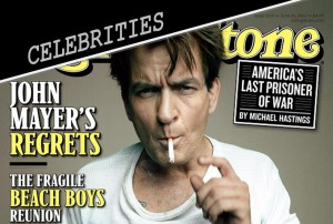 CHARLIE SHEEN ROLLING STONE COVER STORY