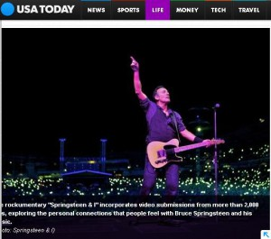 USA Today on Fathom Events' Springsteen, Clapton & Grateful Dead events