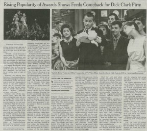 New York Times: Awards Shows Bring Clark Firm Bouncing Back