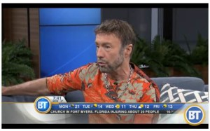 Paul Rodgers Appears On Breakfast Television in Toronto