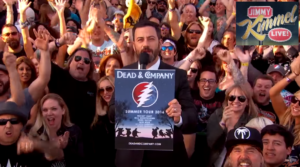 "Dead & Company Performs ""Bertha"" on Jimmy Kimmel Live!"