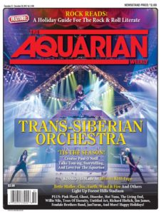 TSO – AQUARIAN WEEKLY COVER FEATURE