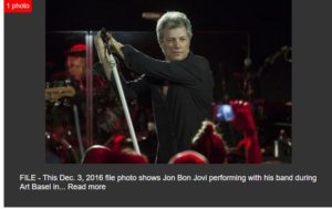 AP Big Story: Contest will pick opening acts for Bon Jovi tour