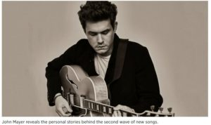 Rolling Stone- John Mayer Reveals Personal Stories Behind Four 'Wave 2' Songs
