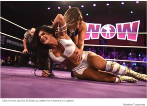 LA Weekly: WOW Professional Wrestling Lets Women Be Bad and That's a Good Thing