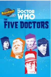 The Doctor is in the House! Tickets on Sale Now for Hilarious Event 'RiffTrax Live: Doctor Who – The Five Doctors' in Cinemas This August for Two Nights Only