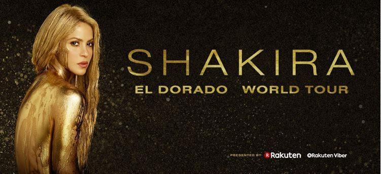 Shakira Announces El Dorado World Tour Coming to the Forum on February 21, 2018