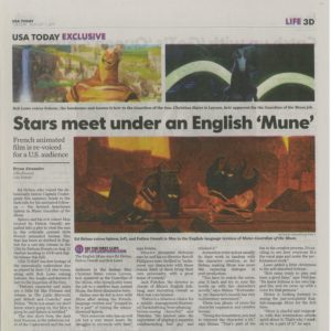 "USA TODAY:  Ed Helms talks ""Mune"""