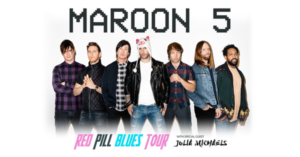 Maroon 5 Adds Second Los Angeles Show to 2018 Red Pill Blues Tour June 5th at the Forum