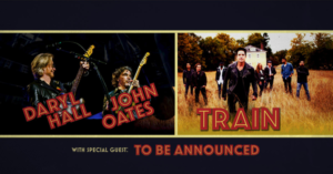 Daryl Hall & John Oates and Train Join Forces for Monumental Co-Headline Summer 2018 Tour Coming to the Forum on July 31