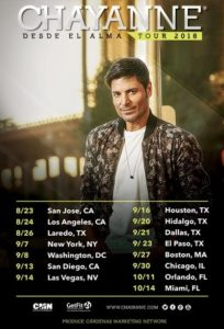 "Chayanne's New Tour ""Desde El Alma"" Coming to the Forum on August 24"