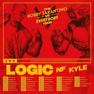 "Logic Announces ""The Bobby Tarantino vs. Everybody Tour"" with NF & KYLE Coming to the Forum on July 20"