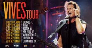 "Carlos Vives ""VIVES TOUR"" Coming to the Forum on September 29"