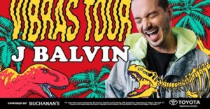 J Balvin Announces North American 'Vibras Tour' Coming to the Forum on September 23