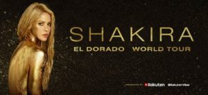 Shakira Announces Second Los Angeles Show on her El Dorado World Tour at the Forum August 29