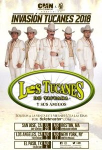 Los Tucanes de Tijuana Coming to the Forum August 3