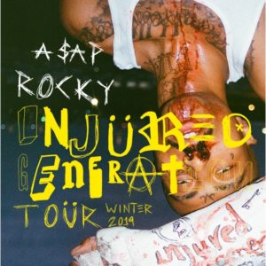 A$AP Rocky 'Injured Generation Tour' Coming to the Forum January 31