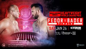 Bellator World Heavyweight Championship: Fedor vs. Bader Coming to the Forum January 26