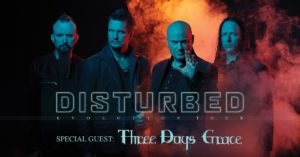 Disturbed Announce EvolutionWorld Tour Coming to the Forum January 11