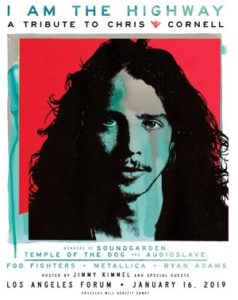 """I Am The Highway: A Tribute to Chris Cornell"" Coming to the Forum January 16"