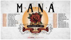 Maná Announces 'Rayando El Sol Tour' Coming to the Forum September 20 & 21 / November 22 & 23