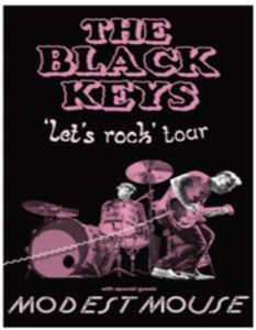 "The Black Keys ""Let's Rock"" Tour Coming to the Forum November 19"
