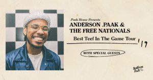 Anderson .Paak Announces First Ever Headlining Show at the Forum June 29