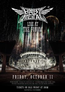 Babymetal Announces First U.S. Arena Show at the Forum October 11