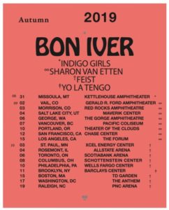 Bon IverNorth American Tour Coming to the Forum September 15