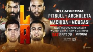Bellator 228: Pitbull vs. Archuleta Coming to the Forum September 28