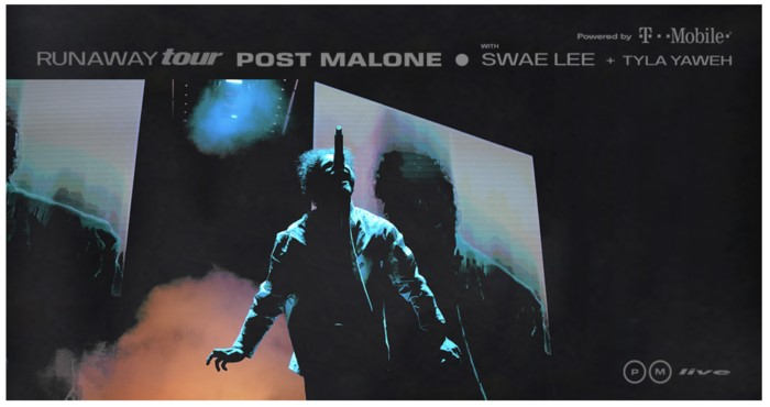 Post Malone Announces 'Runaway Tour' Coming to the Forum