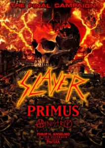 Slayer Adds Second Forum Show on November 29