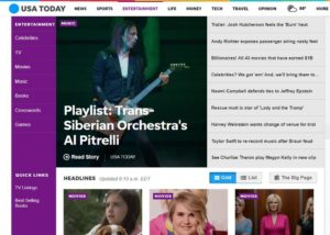 USA TODAY: Playlist: Trans-Siberian Orchestra's Al Pitrelli shares his favorite classics