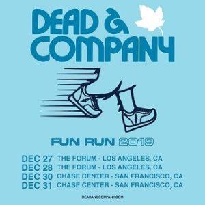 "Dead & Company Adds West Coast ""Fun Run 2019"" Concerts"