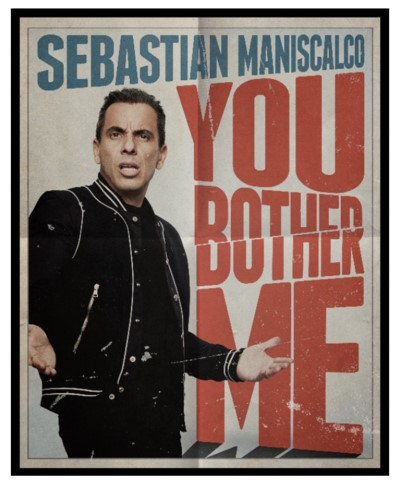 Klove Christmas Player.Sebastian Maniscalco You Bother Me Tour Coming To The