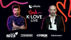"Uforia's ""K-LOVE Live"" Coming to the Forum November 16"