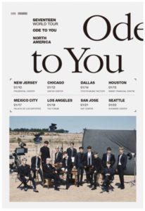"K-Pop Superstars SEVENTEEN ""Ode To You"" Tour Coming to the Forum January 19"