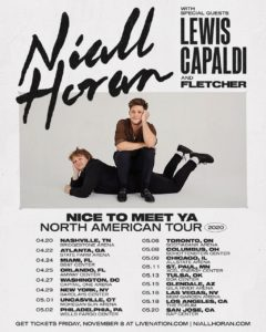 Niall Horan's Nice To Meet Ya Tour Coming to the Forum May 18