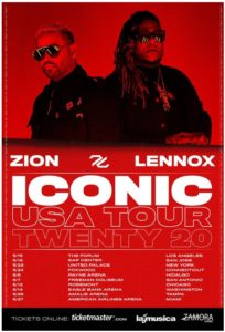 "Zion & Lennox ""ICONIC Tour Twenty 20"" Coming to the Forum May 15"