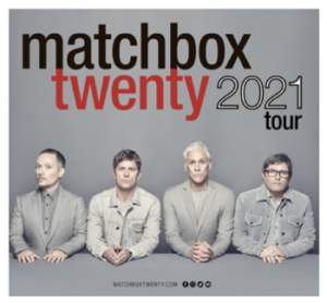Matchbox Twenty Announces Rescheduled Tour Dates
