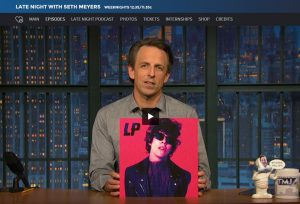 LP performs on Late Night with Seth Meyers