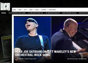 ULTIMATE CLASSIC ROCK: Kitt Wakeley & Joe Satriani