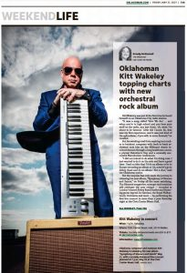 OKLAHOMAN: Kitt Wakeley topping charts with new orchestral rock album