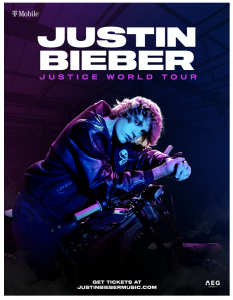 Justin Bieber Announces Rescheduled and New Tour Dates – Coming to the Forum on February 23