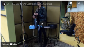 """FLOOD MAGAZINE: LP Shares an Exclusive In-Studio Performance of Her Recent Single """"One Last Time"""""""