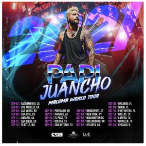 "Maluma ""Papi Juancho 2021 World Tour"" Coming to the Forum on September 3"