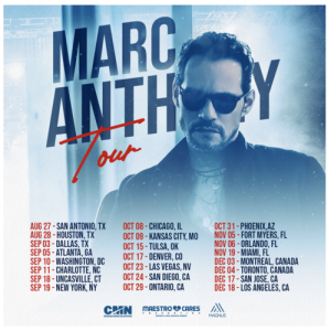 Marc Anthony Tour Coming to the Forum December 18