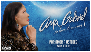 """Mexican Icon and Renown Recording Artist Ana Gabriel Announces her First Post-Pandemic World Tour  """"Por Amor A Ustedes""""   Coming to the Forum on Sunday, February 20"""