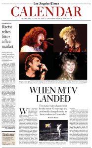 LA Times interviews REO's Kevin Cronin & more